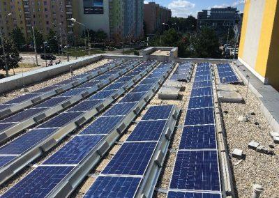 Fotovoltaická elektrárna na Domově pro seniory Máj